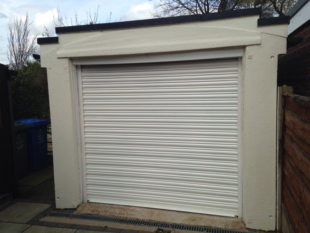 Steel Roller Garage Door Middleton Manchester Rochdale Oldham