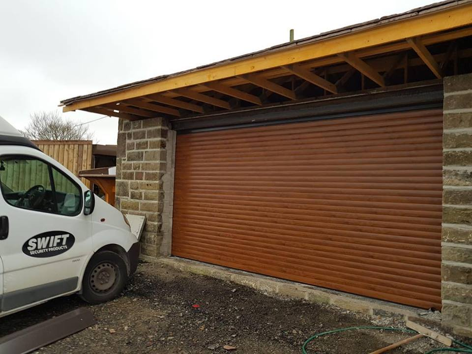 Swift Security Products Ltd Aluminium Insulated Roller Garage Door